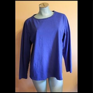 Coldwater Creek Blue Long Sleeve Top